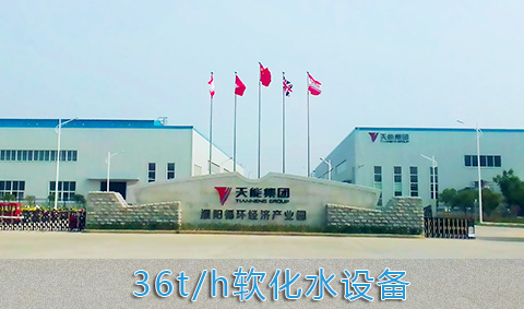 36t/h锅炉软化水设备