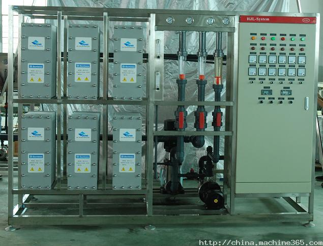 EDI超纯水设备-天宇水处理浅谈EDI超纯水设备的特点及性能