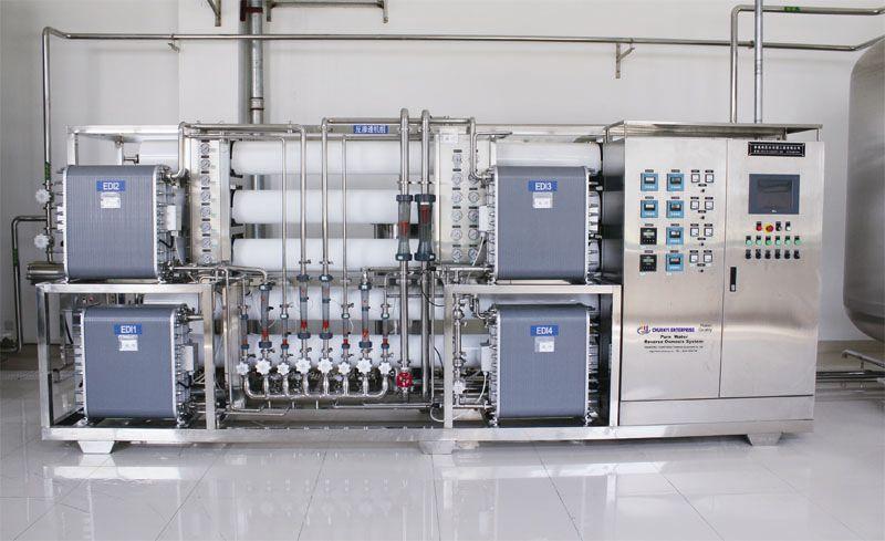 EDI超纯水设备-EDI超纯水设备在使用中需要注意的问题
