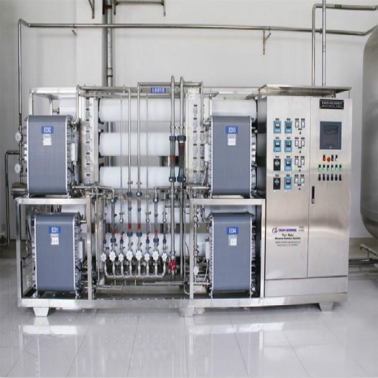 EDI超纯水设备-EDI超纯水设备的制水过程