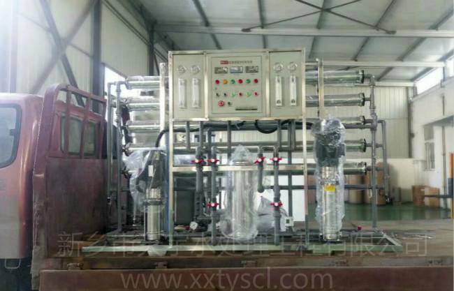 1吨EDI超纯水设备-超纯水设备发货现场