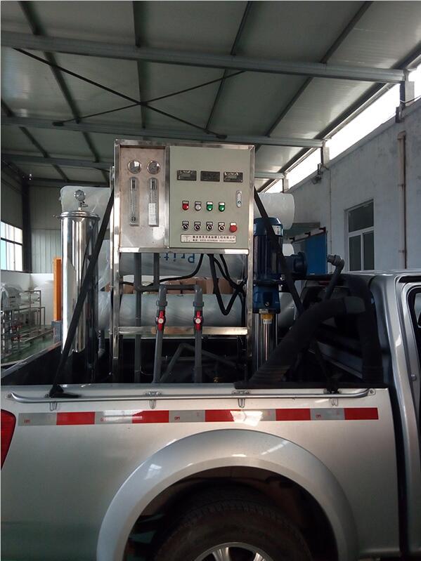 3吨反渗透设备-3吨反渗透设备发货现场