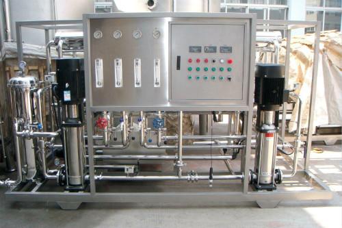 反渗透水处理设备-单级反渗透设备和双级反渗透设备的区别