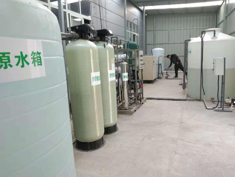反渗透设备-辉县反渗透设备客户安装现场