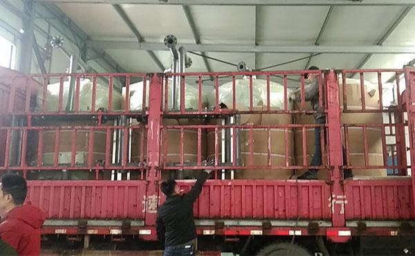 一用一备3吨反渗透+30吨预处理发货现场