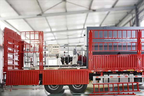 5吨单级反渗透设备和一体化污水处理设备发货