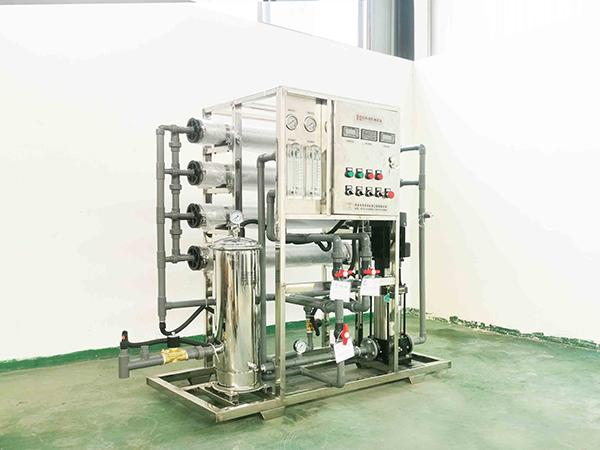 1吨纯净水设备发货