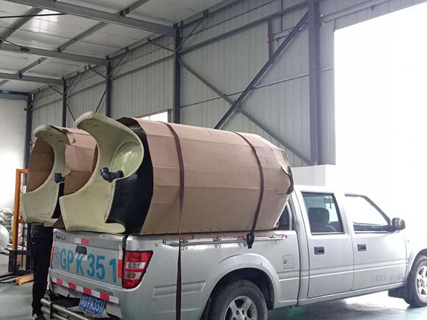 软化水设备装车发货