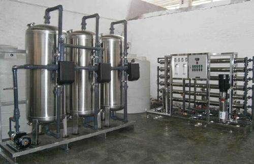 反渗透纯水设备分为预处理调试和反渗透主机调试两部分