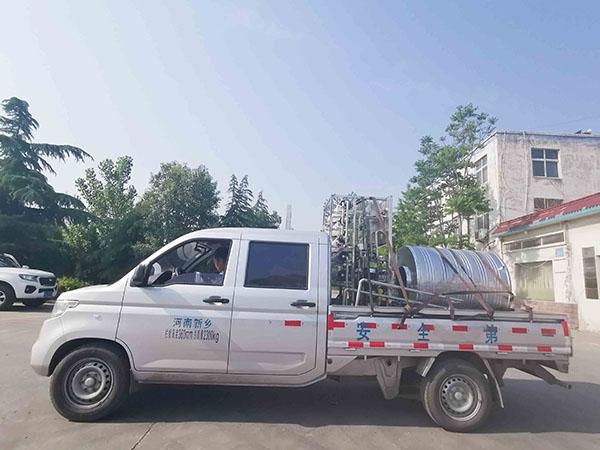 每小时产水量为0.5吨的纯水设备发货
