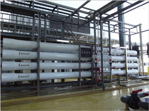 保护高压泵和反渗透膜通常在反渗透设备进水前设置滤芯式保安过滤器