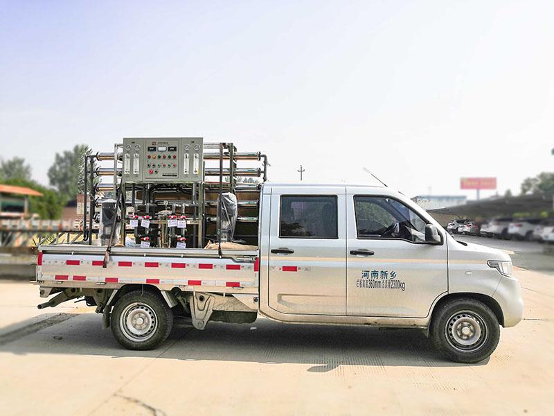 双级反渗透设备装车发货