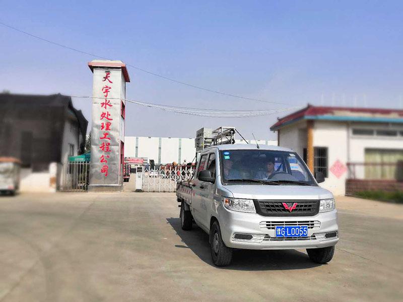 1T/H双级反渗透设备装车发货