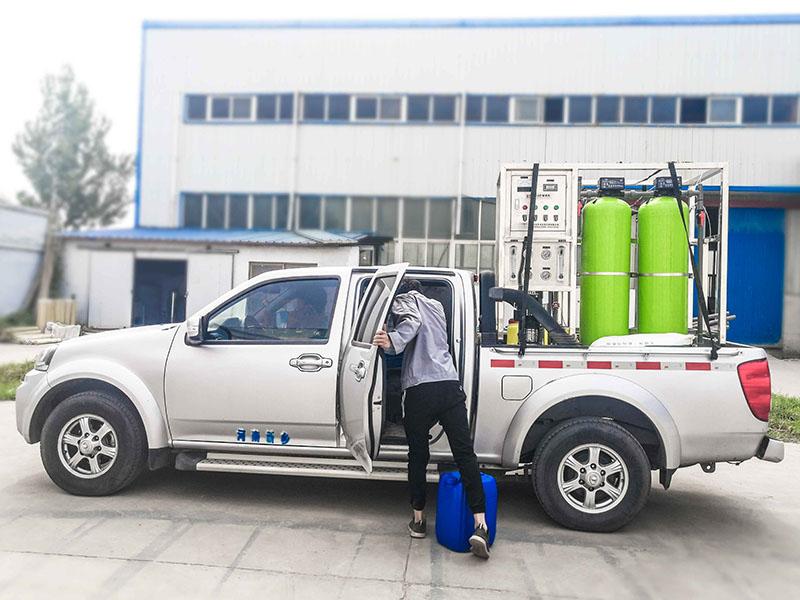 1T/H单级反渗透水处理设备发货