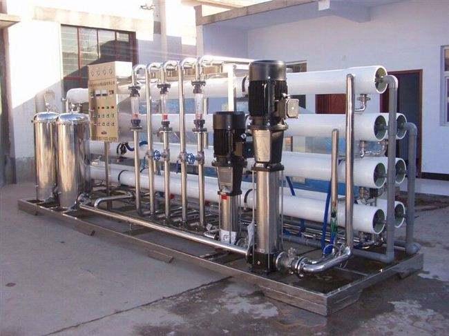 当反渗透设备运行时间过长的时候,就有可能出现无法供水的情况