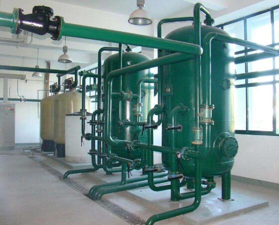 软化水设备厂家实拍图