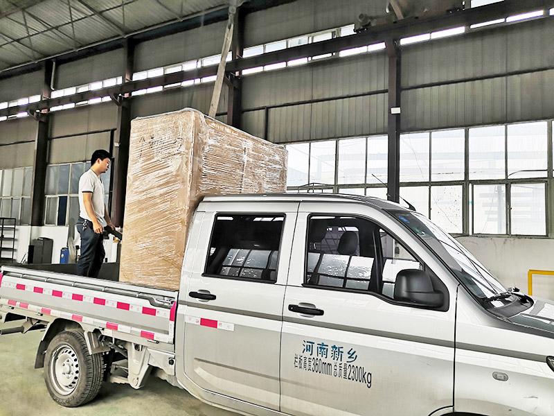 濮阳客户1T/H单级反渗透设备发货
