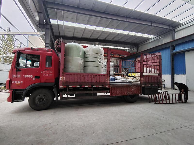 9T/H反滲透純(chun)淨水設備發貨