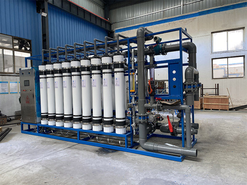 60T超(chao)濾水處理設備
