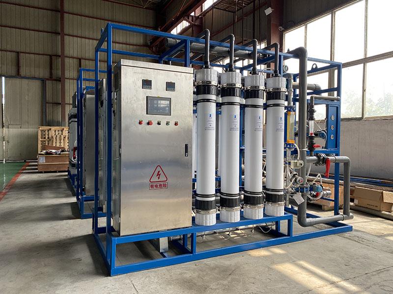 25T超(chao)濾淨水設備